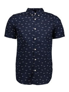 Jack & Jones Overhemd JORLEAN SHIRT SS 12124341 Total Eclipse