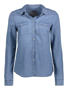 VMDAISY DENIM SHIRT LT BLUE NS 10170742 Light Blue Denim
