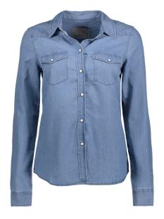 vmdaisy denim shirt lt blue ns 10170742 vero moda blouse light blue denim