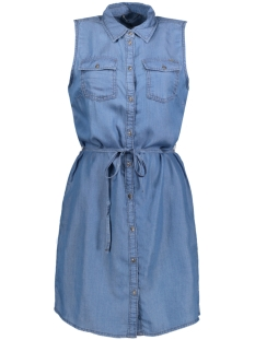 Only Jurk onlNEW CLAIRE SL SHIRT DRESS  AKM 15134524 Light Blue denim