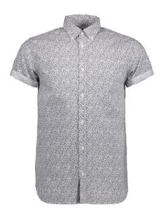 Jack & Jones Overhemd JPRKEVIN PRINT SHIRT S/S 12120990 White