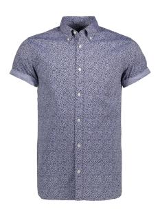 Jack & Jones Overhemd JPRKEVIN PRINT SHIRT S/S 12120990 Cashmere Blue