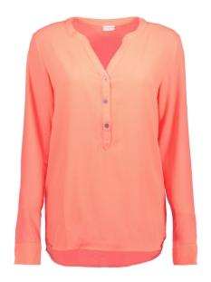 jdytrack l/s blouse wvn 15131700 jacqueline de yong blouse fiery coral