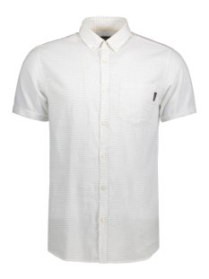 Jack & Jones Overhemd JORDIRK SHIRT SS 12120888 Cloud Dancer
