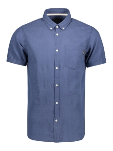 Jack & Jones Overhemd JORDIRK SHIRT SS 12120888 Ensign Blue
