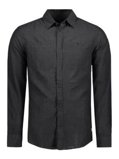Jack & Jones Overhemd JJVROCKVALE SHIRT L/S UTILITY 12114487 Black