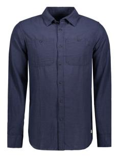 Jack & Jones Overhemd JJVROCKVALE SHIRT L/S UTILITY 12114487 Mood Indigo