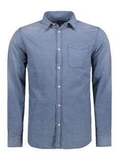 Jack & Jones Overhemd JJVBRANSON SHIRT L/S ONE POCKET 12114477 Mood Indigo