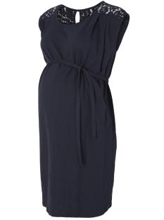 Mama-Licious Positie jurk MLNEW ALETTA S/L JERSEY SHORT DRESS 20007310 Navy Blazer