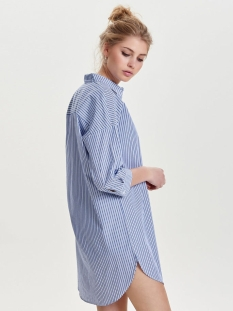 jdybless 3/4 long shirt wvn 15138879 jacqueline de yong blouse white/light blue