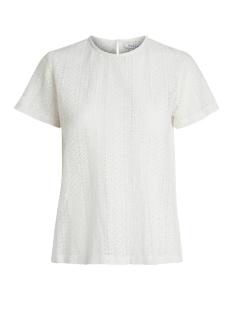 Pieces T-shirt PCKIRSTINE SS BLOUSE 17081923 Cloud Dancer