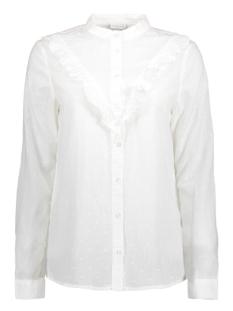 Jacqueline de Yong Blouse JDYFUTURA L/S FRILL SHIRT WVN 15141337 White