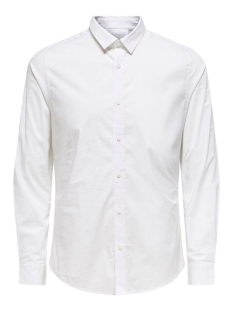 Only & Sons Overhemd onsALFREDO LS SHIRT NOOS 22007080 White