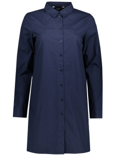 Vero Moda Blouse VMBELLA L/S LONG SHIRT 10182762 Navy Blazer