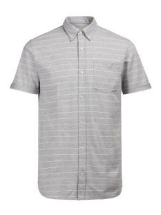 Jack & Jones Overhemd JPRALDGATE SHIRT S/S 12120499 Light Grey Mela/Slim Fit