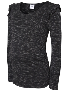 Mama-Licious Positie shirt MLOLGA L/S JERSEY TOP 20007476 Dark Grey Melange