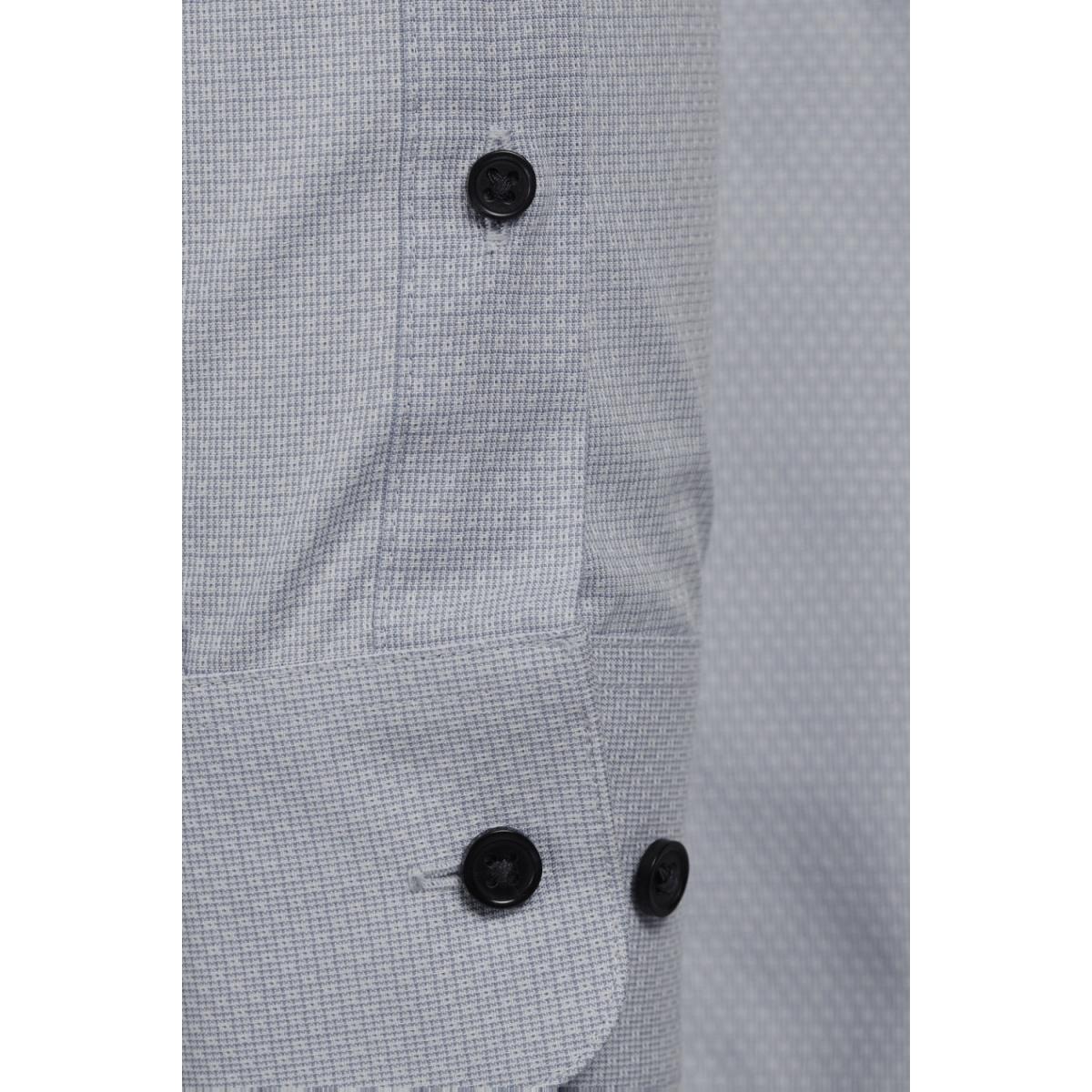 jprjenson shirt l/s noos 12125174 jack & jones overhemd dark grey