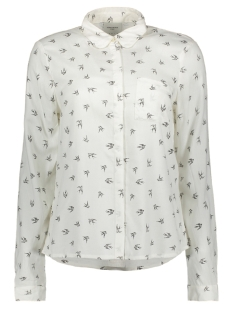 Vero Moda Blouse VMSWALLOW L/S SHIRT LCS D2 10192880 Snow White/ Swallow