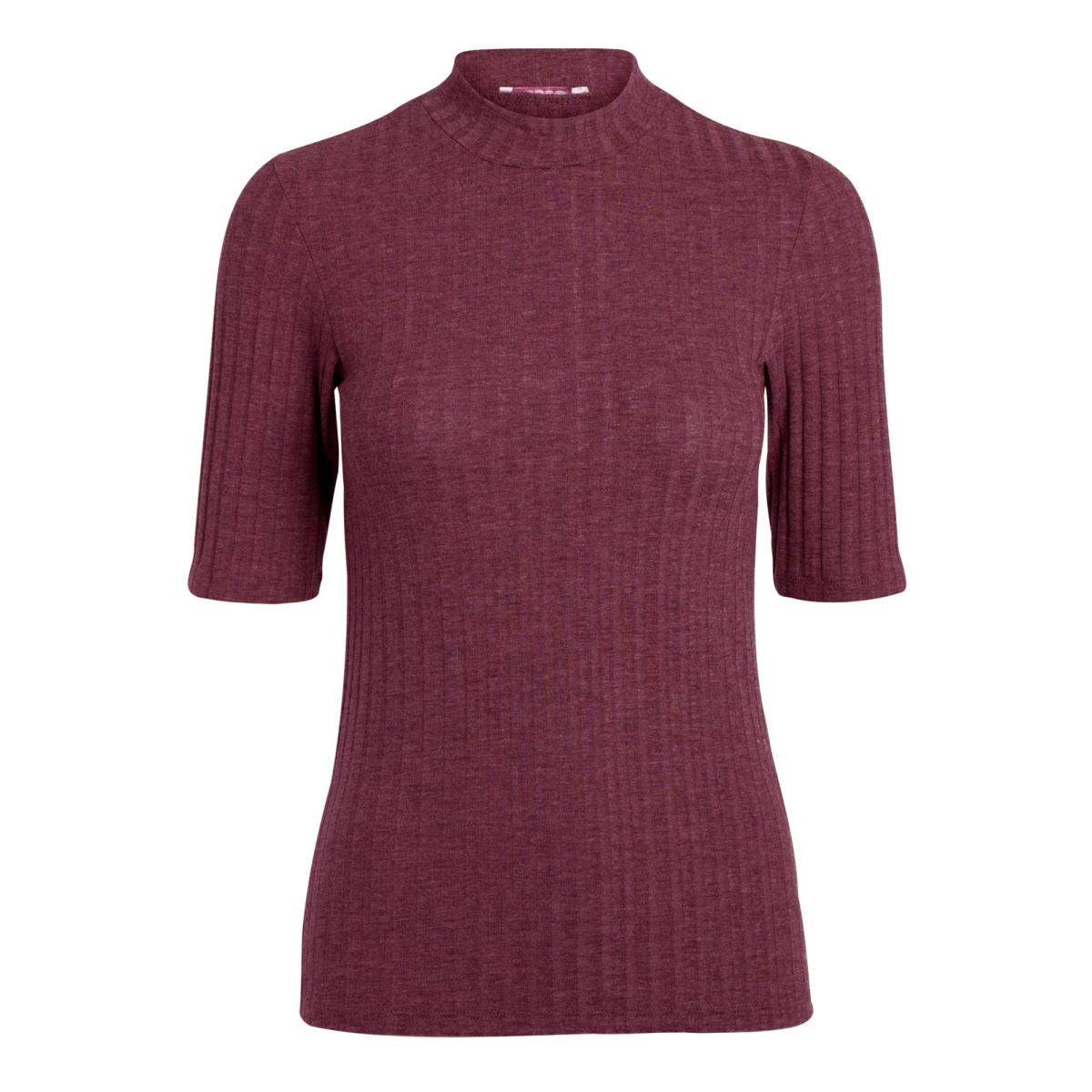 pcamy 2/4 turtleneck top noos 17079709 pieces t-shirt port royale