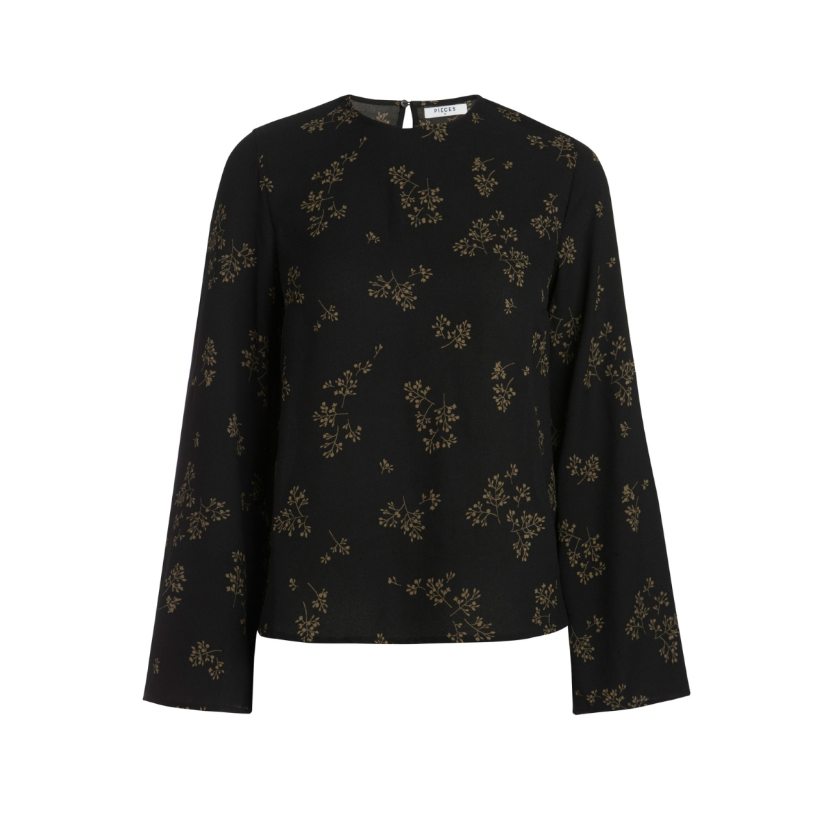 pcnadea blouse 17083952 pieces blouse black