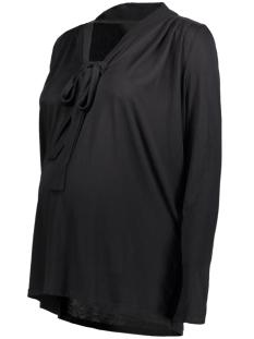 Mama-Licious Positie shirt MLNURIA L/S JERSEY TOP 20007547 Black