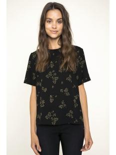 pcnadea ss top 17084092 pieces t-shirt black