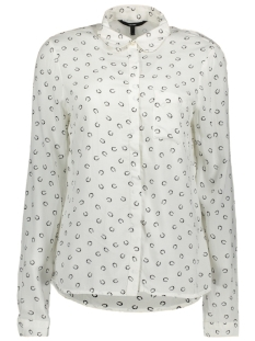 Vero Moda Blouse VMPRINTY L/S SHIRT REPEAT 10191686 Snow White/ Horse Shoe
