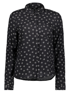 VMPRINTY L/S SHIRT REPEAT 10191686 Black/ Horse Shoe