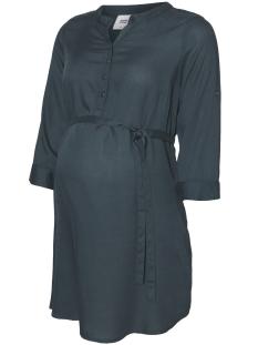 Mama-Licious Positie blouse MLMERCY 3/4 WOVEN TUNIC 20004153 Green Gables