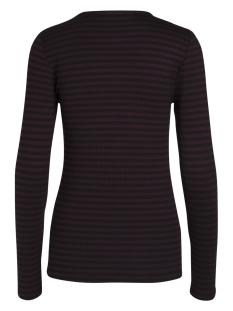 pcraya round neck blouse noos 17073091 pieces t-shirt port royale/ black