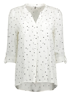 onlfirst ls pocket aop  shirt noos 15141366 only blouse dancer/starshine