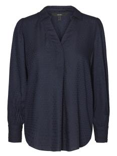 Vero Moda Blouse VMJULI L/S SHIRT D2-5 10183911 Navy Blazer