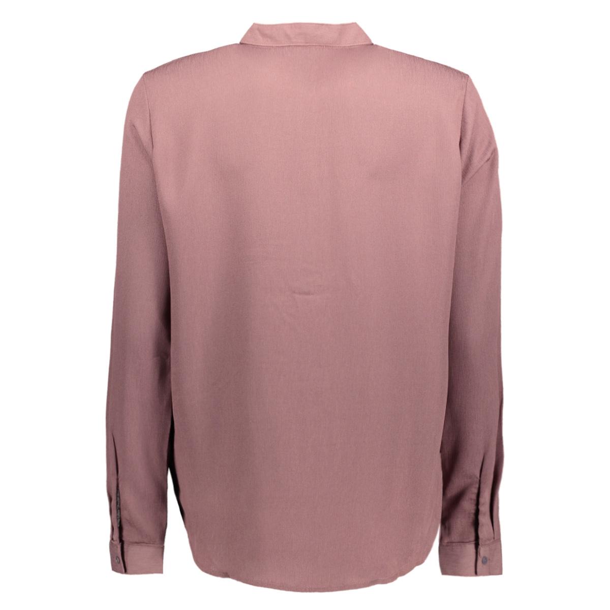 jdytribby l/s shirt wvn 15142447 jacqueline de yong blouse rose taupe