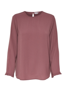 Jacqueline de Yong Trui JDYSERENITY L/S BLOUSE WVN 15143328 Rose Taupe/SILVER