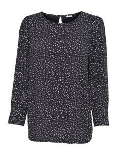 jdymolly l/s blouse wvn 15142931 jacqueline de yong blouse black/seed