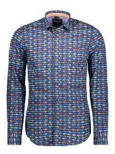 32636 gabbiano overhemd navy