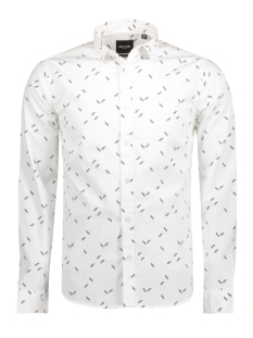 Only & Sons Overhemd onsTITAN LS MINI INKA AOP SHIRT 22007564 White