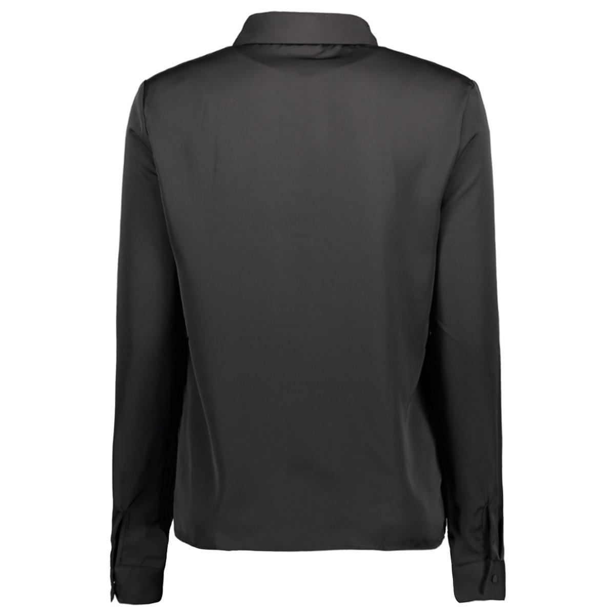 nmchella l/s shirt x 27001227 noisy may blouse black