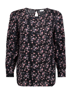 Jacqueline de Yong Blouse JDYMOLLY L/S BLOUSE WVN 15142931 Black/ Flower
