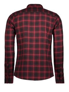 onstristen ls check shirt 22007566 only & sons overhemd merlot