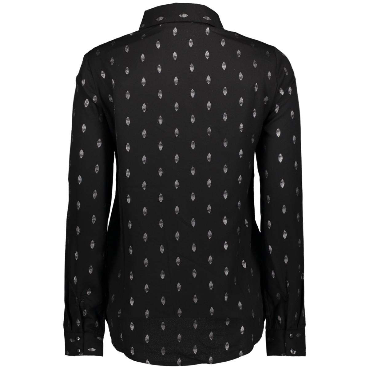 vmfolia ls shirt 10188465 vero moda blouse black