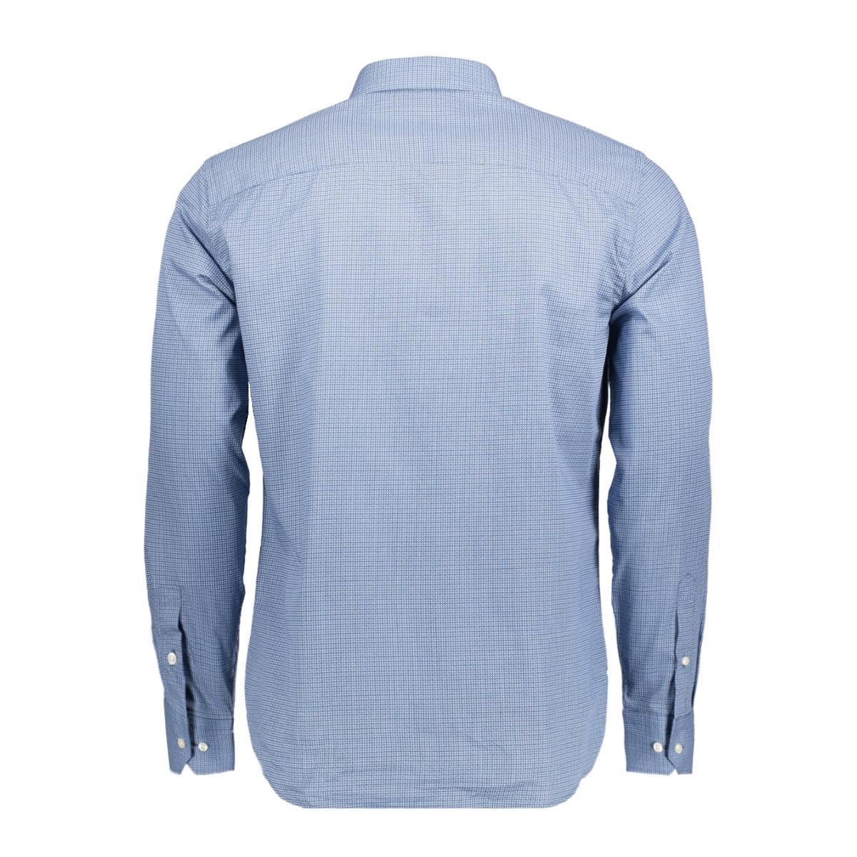 jprjose shirt l/s plain 12122830 jack & jones overhemd true navy
