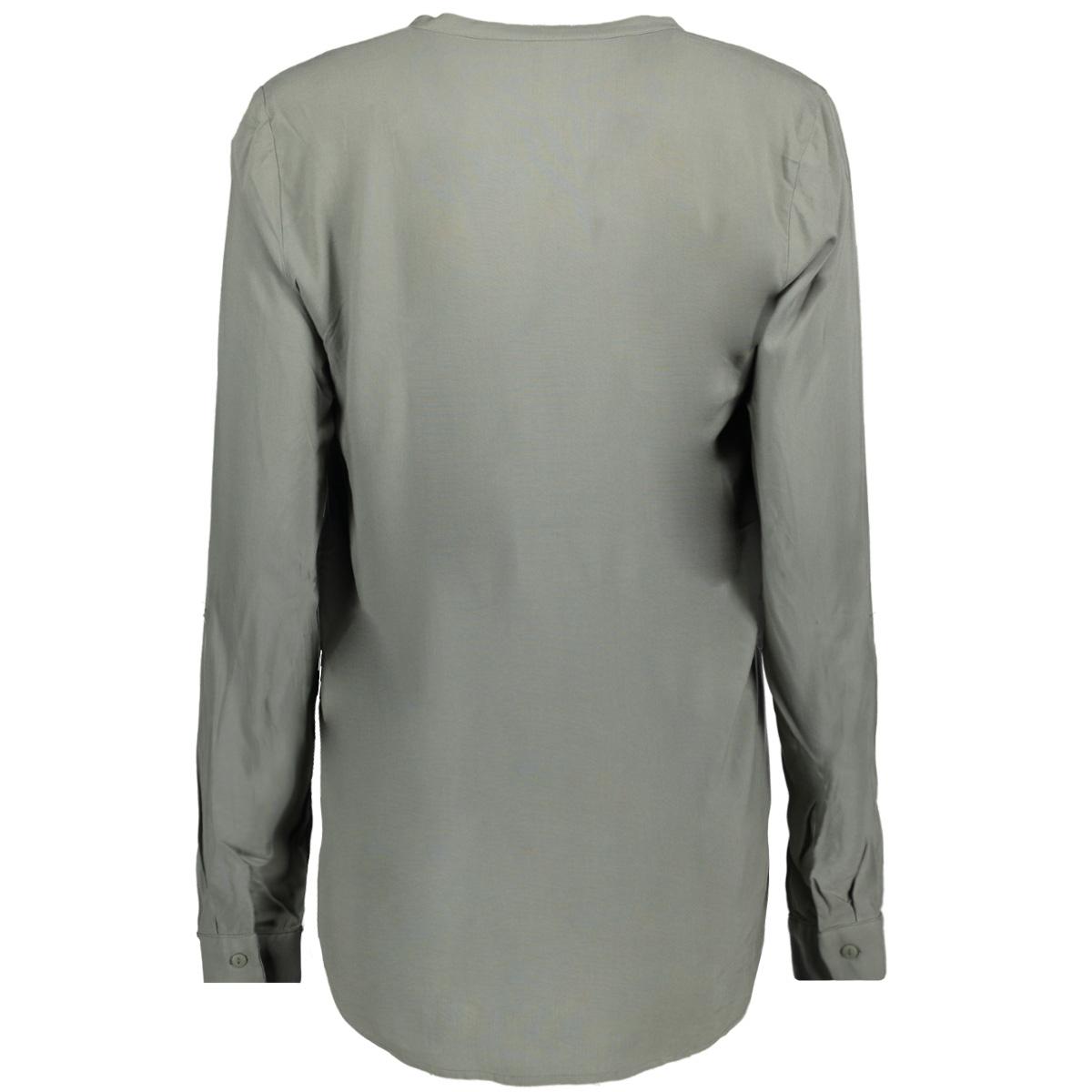onlfirst ls pocket shirt noos wvn 15133028 only blouse agve green