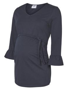 mlalana 3/4 sweat top 20008138 mama-licious positie trui navy blazer