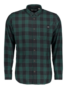 jorwilhelm shirt ls 12127371 jack & jones overhemd ponderosa pine/ slim