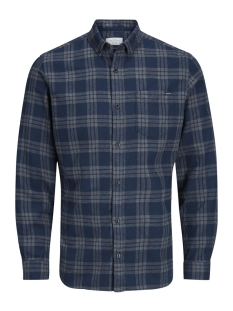 Jack & Jones Overhemd JORWILHELM SHIRT LS  12127371 Navy Blazer