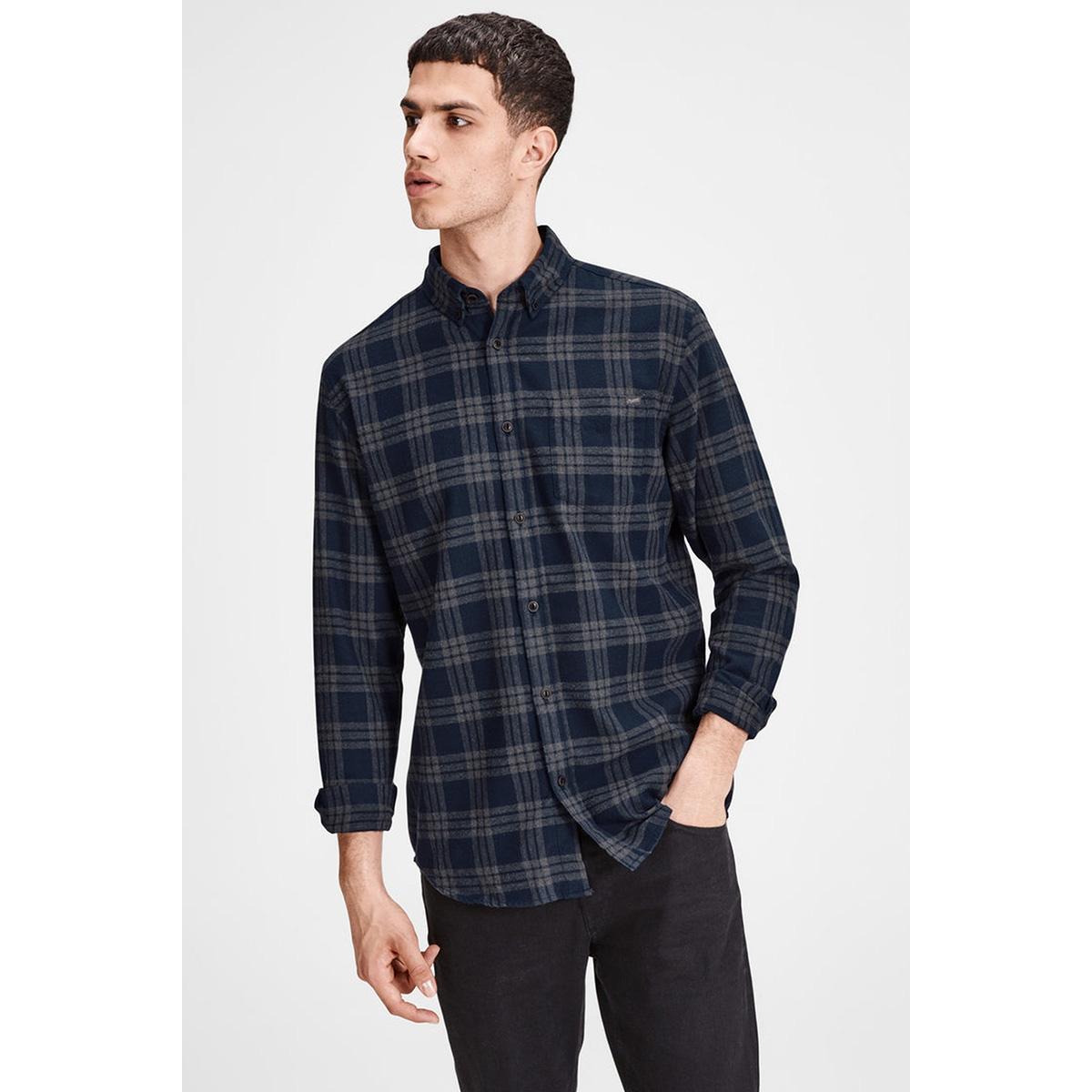 jorwilhelm shirt ls  12127371 jack & jones overhemd navy blazer