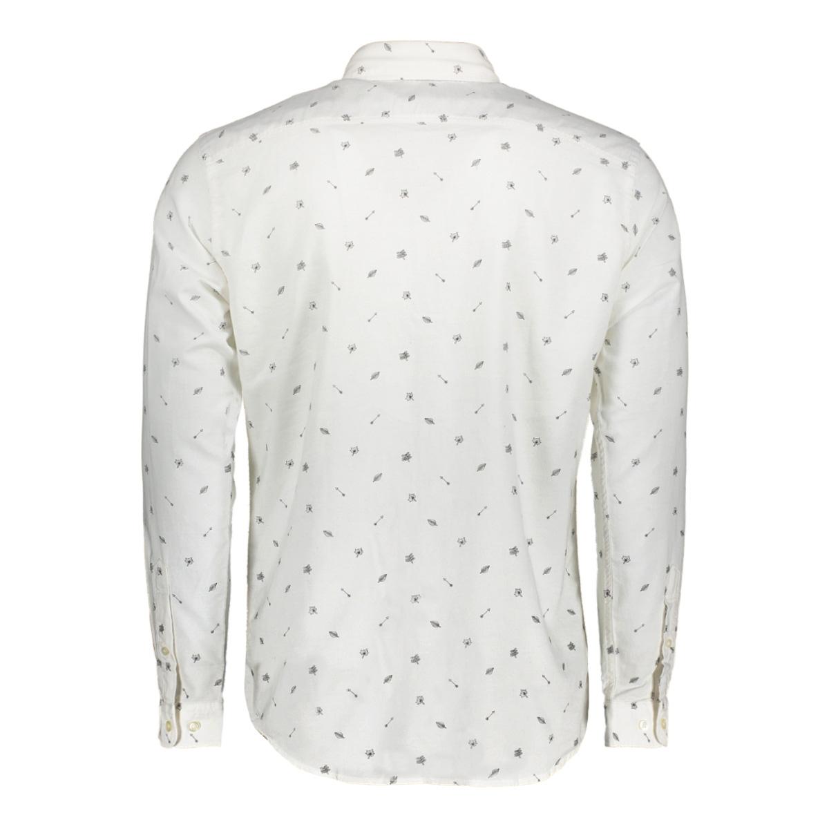 jorjoe shirt ls 12127804 jack & jones overhemd white/slim
