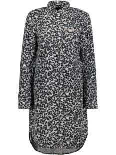 Vero Moda Jurk VMCHARLIE LS SHIRT DRESS GA 10185950 Light Grey melange