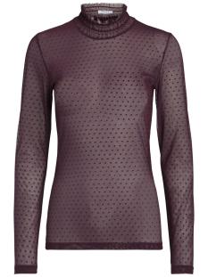 Pieces T-shirt PCOLIVIA LS MESH TOP FF 17088263 Port Royale
